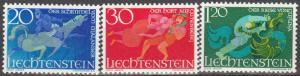 Liechtenstein #421-3  MNH  (S5937L)
