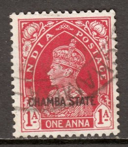 India (Chamba) - Scott #73 - Used - SCV $5.50