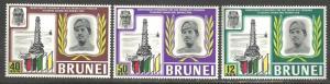 BRUNEI SCOTT 153-155