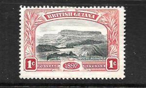 BRITISH GUIANA  1898  1c  JUBILEE     MH     SG 216