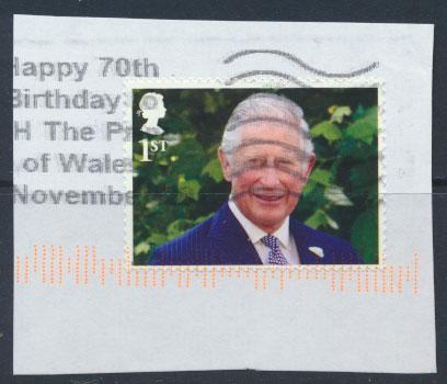 Great Britain Prince Charles 70th Birthday 2018  1st Class  see scan