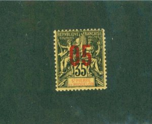 ST. PIERRE & MIQUELON 116 MH BIN$ 1.50