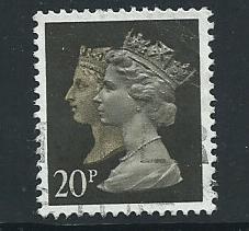 GB QE  II  SG 1469 Harrison - phosphised paper Fine Used