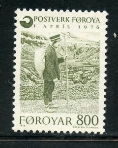Faroe Islands # 23, Mint Never Hinge. CV $ 1.75