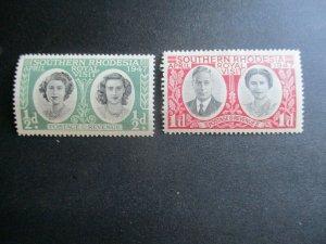 Southern Rhodesia, Scott#65-66, MNH