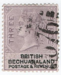 (I.B) British Bechuanaland Revenue : Duty Stamp 3d