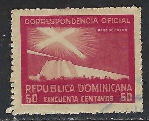 Dominican Republic O25 VFU COLUMBUS 315G-10
