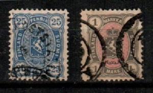 Finland Scott 34-35 Used VF (Catalog Value $23.50)