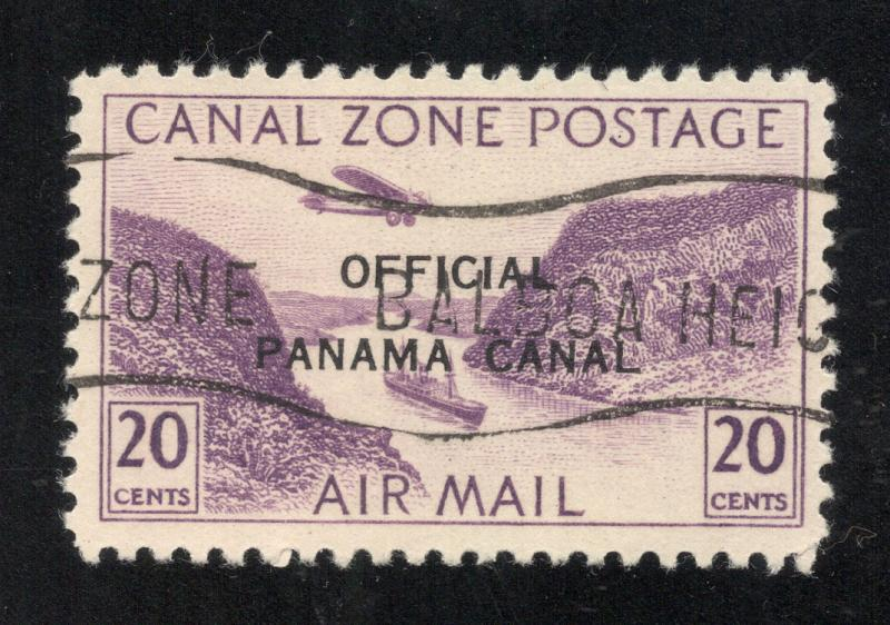 CZ#CO4 Air Post Official - Used