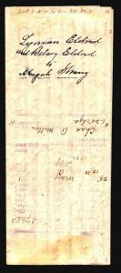 US 1869 Mortgage Paper w/ Revenue (Folded) - Z15866