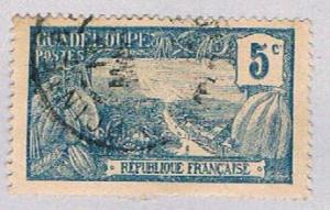 Guadeloupe 58 Used Harbor at Basse Terre 1905 (BP3026)