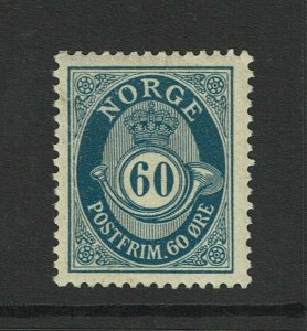 Norway SC# 95, Mint Hinged, Hinge Remnant, see notes - S9391