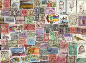 300 All Different PAKISTAN Stamps