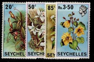SEYCHELLES QEII SG288-291, 1970 flowers set, NH MINT.