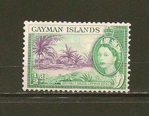 Cayman Islands 136 Coconut Grove Mint Hinged