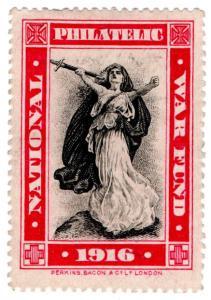 (I.B) Cinderella Collection : National Philatelic War Fund