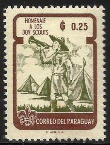 Paraguay 1962 Scott# 640 MH