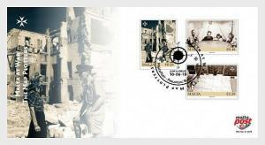 H01 Malta 2019 Malta At War - The Map Plotters 2019 FDC