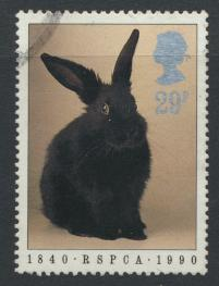 Great Britain SG 1480  Used   - RSPCA Animals