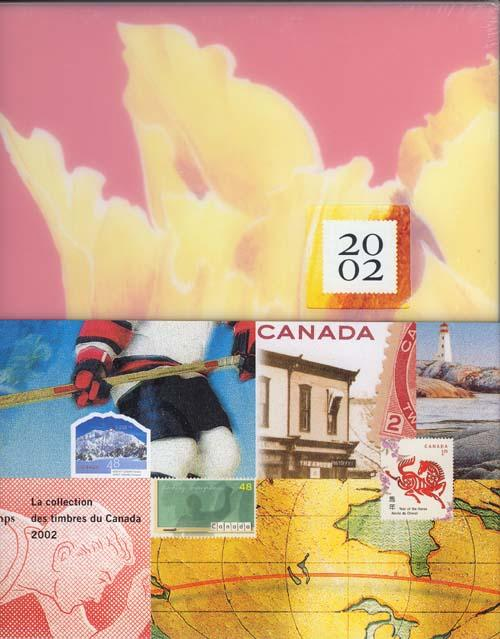 Annual Souvenir Collection  Postage Stamps of Canada 2002 USC #AC41 Cat. $100.