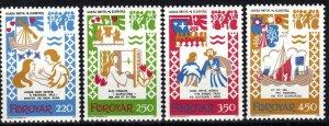 Faroe Islands #86-9  MNH  CV $3.60 (P640)
