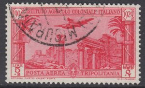 Italy - TRIPOLITANIA Istituto Agricolo Sassone n.A21 used cv 210$