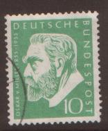 West Germany 1955 Von Miller SG 1135 fine used