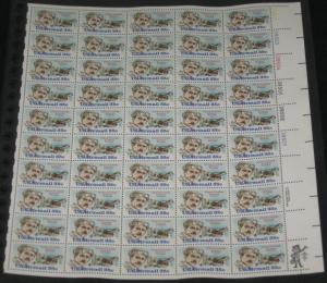 US #C100 35¢ Glenn Curtis, Complete sheet of 50, og, NH