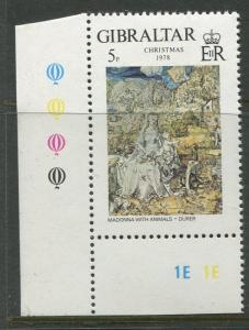 Gibraltar - Scott 374 - General Issue -1978 - MNH - Single 5p Stamp