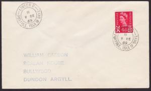 GB SCOTLAND 1969 cover LINICRO / PORTREE ISLE OF SKYE cds..................55747