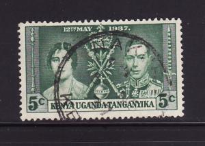 Kenya, Uganda, Tanzania 60 U King George VI Coronation (C)