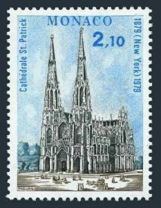 Monaco 1195,MNH.Michel 1398. St Patrick's Cathedral,New York city.1979.