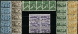 Navy Boy Scouts US States Stamps Postage Strips Collection American History MNH