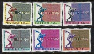 PERU C226-31 MOG OLYMPICS E921