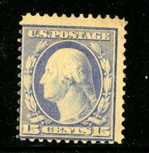 US Scott 382 Washington Perf. 12 Mint Hinged $240.00