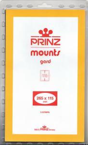 PRINZ CLEAR MOUNTS 265X115 (5) RETAIL PRICE $11.50