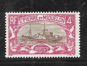 St. Pierre & Miquelon #138 MNH Single