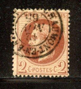 France, # 30, Used. CV $ 25.00
