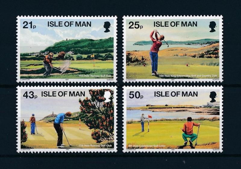 [58261] Isle of Man 1997 Golf MNH