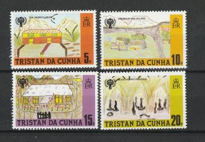 Tristan da Cunha MNH 264-7  Year Of The Child 1979