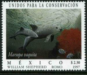 MEXICO 2041, United for Conservation Vaquita Marina. MINT, NH. VF. (69)