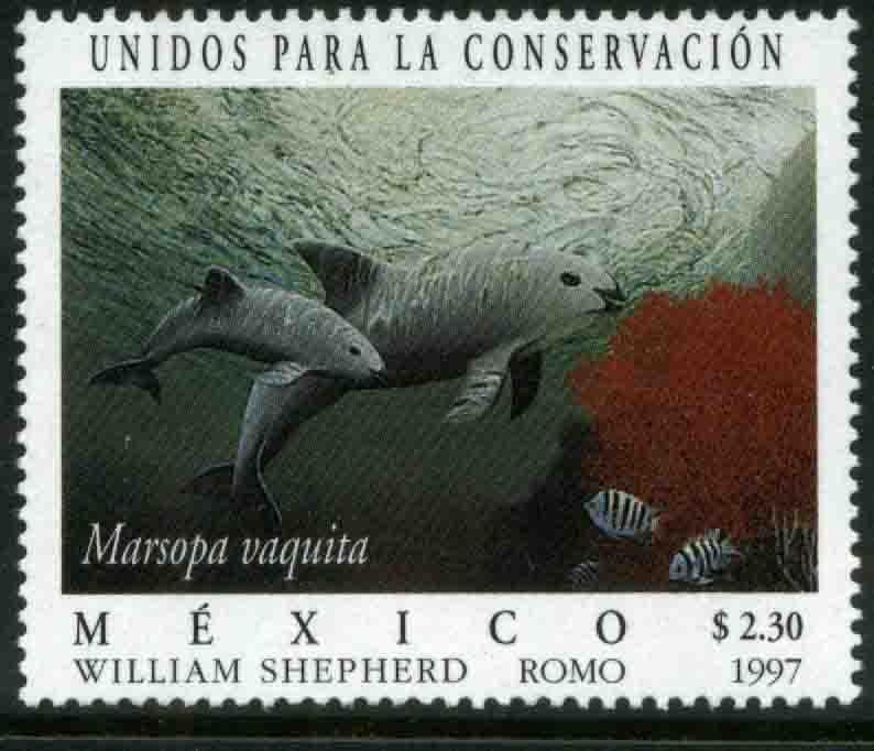 MEXICO 2041, United for Conservation Vaquita Marina. MINT, NH. VF. (69)