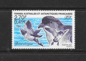 BIRDS - FRENCH SOUTHERN ANTARCTIC TERRITORIES #280  MNH