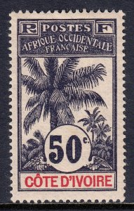 Ivory Coast - Scott #32 - MH - SCV $16