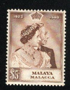 Malaya-Malacca  #2   Mint  VF 1964 PD