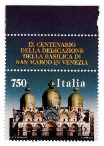 Italy Scott 2300 MNH**  single from San Marino souvenir sheet