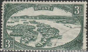 Brunei, #64 Used From 1947-51