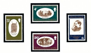 St. Kitts & Nevis MNH 223-6 Charles Dickens 1970
