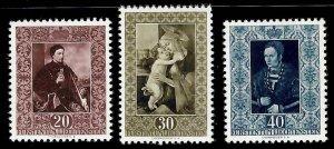 Liechtenstein #261-263 Mint XF NH -- Choice set