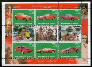 Guinea MNH S/S Enzo Ferrari Cars 1998